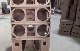 Nhận đóng thùng loa array bass 30, 40 giá rẻ tại Hà Nội