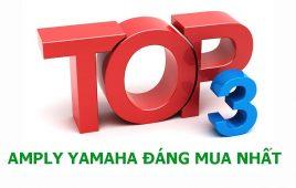 Top 3 amply Yamaha giá rẻ đáng mua nhất hiện nay