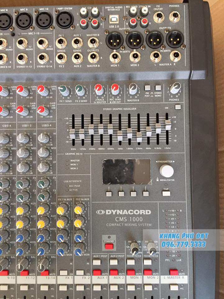 Mixer Dynacord CMS 1000 02