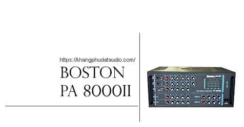 Amply Karaoke PA-8000II