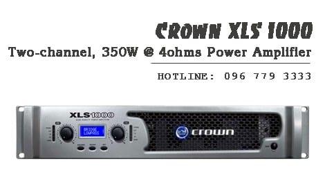 Cục đẩy công suất Crown XLS 1000