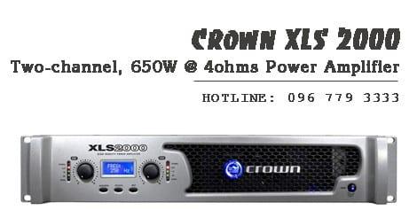 Cục đẩy công suất Crown XLS 2000