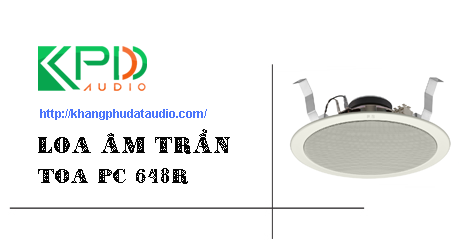 loa am tran toa pc 648r
