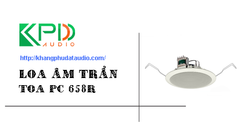 loa am tran toa pc 658r